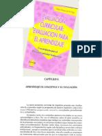 enseñanza de conceptos y procedimientos