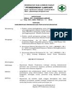 Sk Dokumentasi Prosedur Dan Pencatatan Kegiatan Pedoman Prosedur Dan Rekaman Kegiatan