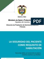 Retos para la Seguridad del Paciente en el Sector Salud de Colombia