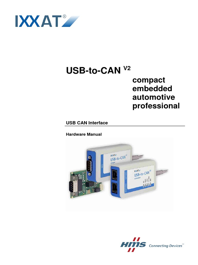 Usb To Can V2 Manual English Electrical Connector Signalink Wiring Diagram