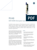 RX48 Decoupled Upstream Module datasheet
