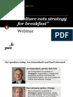 Webinar Culture Eats Strategy for Breakfast