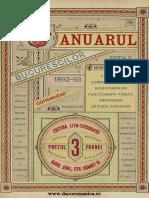 Anuarul Bucurestilor 1892-1893