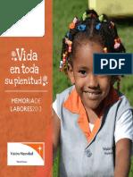 Reporte Anual 2013 / Annual Report 2013