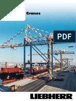 Liebherr Container Cranes Brochure
