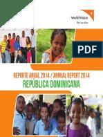 Reporte Anual 2014 / Annual Report 2014