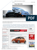 Fiat 500e Full Vehicle Specifications! _ Fiat 500 USA