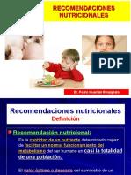 7 Nutrición Clínica - Recomendaciones Nutricionales.ppt