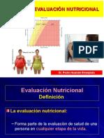 6 Nutrición Clínica - Evaluación Nutricional