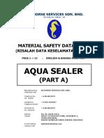 1 MSDS AquaSealer PartA Billingual