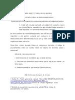 Tema 9 Resoluciones en El Amparo