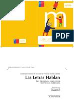 Guia Metodologica Las Letras Hablan