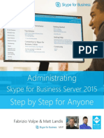 Administrating Skype for Business Server 2015 Step by Step for Anyone_REV_02