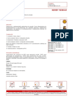 Anexo 2. Catalogo Cable N2XSY 18-30 KV Indeco