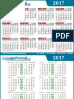 Download Kalender Promosi 2017 Lengkap