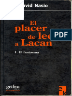 Nasio Juan David - El Placer de Leer a Lacan