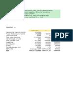 AFM Assignment CVP