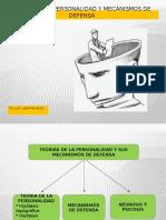 II Teoria de La Personalidad y Mecanismos de Defensa - Copia (1)