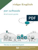 Cambridge English Key for Schools Dl Leaflet