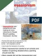 intro to impressionist movement