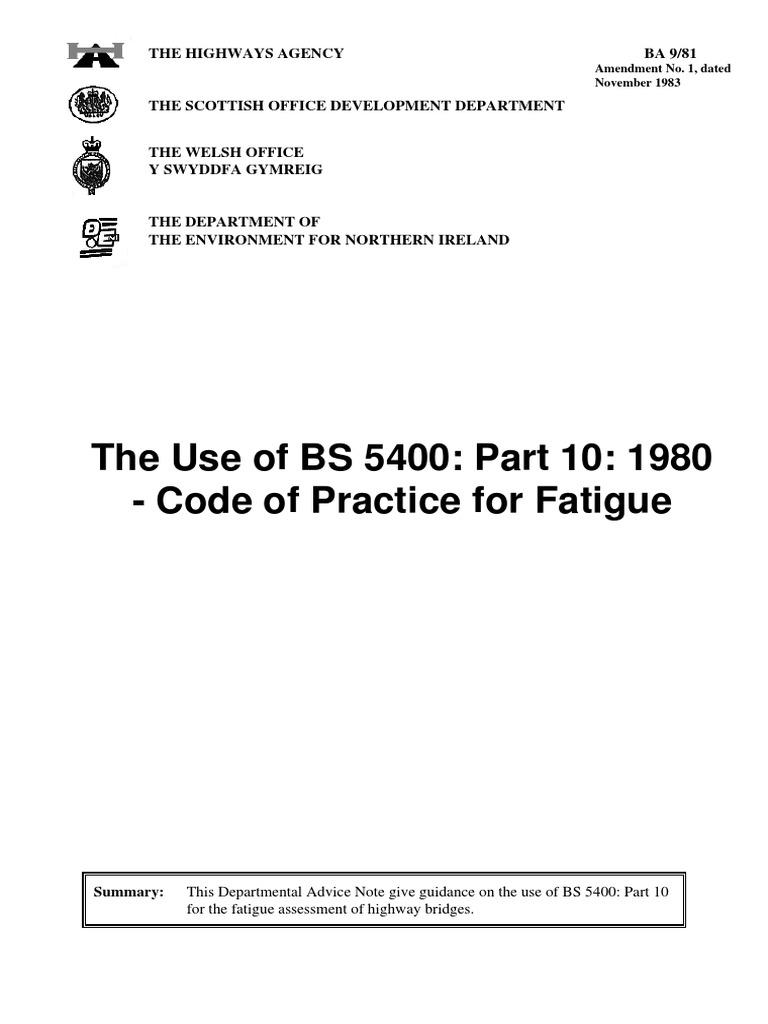 ba981 pdf | Fatigue (Material) | Lane