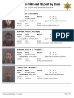 Peoria County Jail Booking Sheet for Aug. 24, 2016
