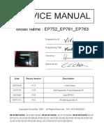 Optoma EP752_EP761_EP763 V4.0 EP761 Service Manual.pdf