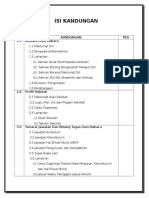 Senarai Kandungan Folio Ppgb