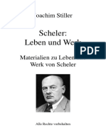 Philosophie Scheler