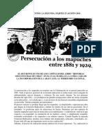 Los Mapuche y Su Sacrificio Territorial