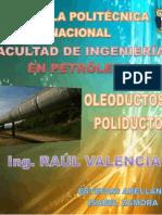 Diseño de Oleoductos Arellano -Zamora