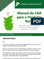 Manual Do CAR Para o Produtor Final