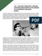 Costanti Tematiche Funzioni Del Simbolico e Identificazione Emotiva Riflessioni Teoriche Intorno a Francesco Orlando Lintimita e La Storia