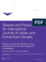 INVE_MEM_2012_132501 Citizens Interactive Behaviour in the Performance of the Urban Space of Cohabitacion. Interactive Atlas of Urban Habitability