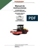 DYNAPAC Manual de Instrucciones Operacion y Mantenimiento CA 260D