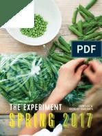 The Experiment Spring 2017 Catalog