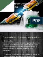 Quemaduras Químicas y Eléctricas