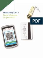 Hospitality 2015 Deloitte Report
