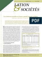 N. Bajos, M. Bozon et al., Les violences sexuelles en France