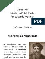 História Publicidade Mundial