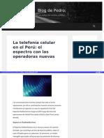 Http Blog Pucp Edu Pe Blog Pedro 2014-10-25 La Telefon a Celular en El Per El Espectro Con Las Operadoras Nuevas