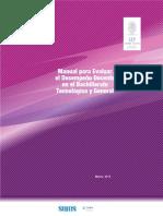 Manual Para Evaluar El Desempeño Docente - Copia