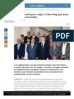 Manifiesto Empresarial Para Exigir a Ximo Puig Que Frene El Plan de Envases Retornables - Valencia Plaza