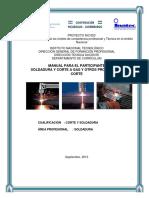 Manual de Soldadura y Corte a Gas y Otros Procesos de Corte