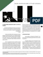 La Constitucion Socialista De Cuba Y El Fin De La Historia