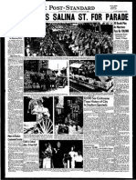 August 15 Syracuse Centennial Celebration, August 1948