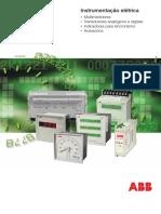 Intrumentação Elétrica ABB Cátalogo