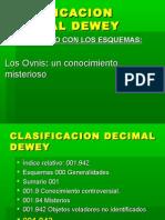 Clasificacion Decimal Dewey Esquemas y Subdivision Comunes