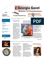 TM District 14 Gavel-Fall 2009 Issue