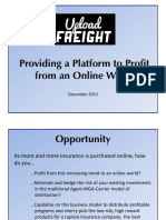 Upload Freight Presentation